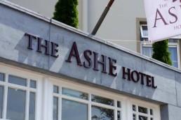 Ashe Hotel - Raised 3D Lettering