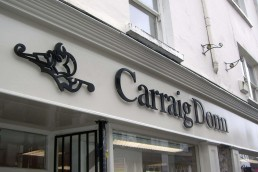 Carraig Donn - Raised 3D Lettering