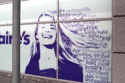 Claires - Window Graphics