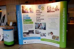 Local Enterprise Office - 3x4 Pop Up Exhibition Stand