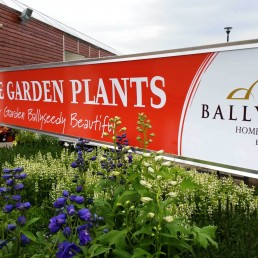 Ballyseedy Garden Centre - Bench Header Signage
