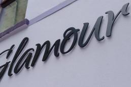 Glamour - Listowel - Raised 3D Lettering
