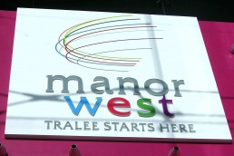 Manorwest - Raised 3D Lettering