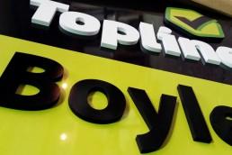 Boyles Topline Hardware - Self Standing Signage