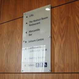 Manor West Hotel - Internal Directional Signage