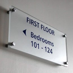 Manor West Hotel - Internal Directional Signage