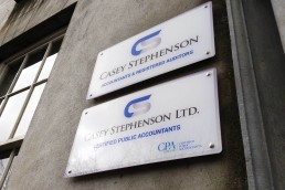 Casey Stephenson Accountants - Nameplates