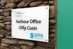 Dingle Harbour Office - Nameplate