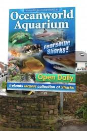 Oceanworld Aquarium - Aluminium Signage