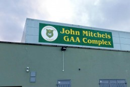 John Mitchels GAA Club - Cladding Signage