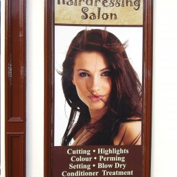 Susannah Hairdressing Salon - Wall Signage