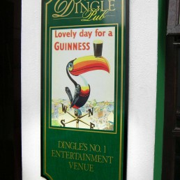 The Dingle Pub - Wall Signage
