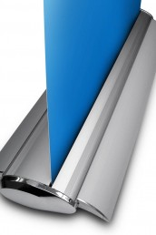 DB2 Roller Banner Side View