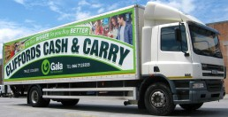 Cliffords Cash & Carry - Digital Truck Graphics
