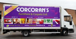 Corcoran's Furniture - Digital Truck Graphics