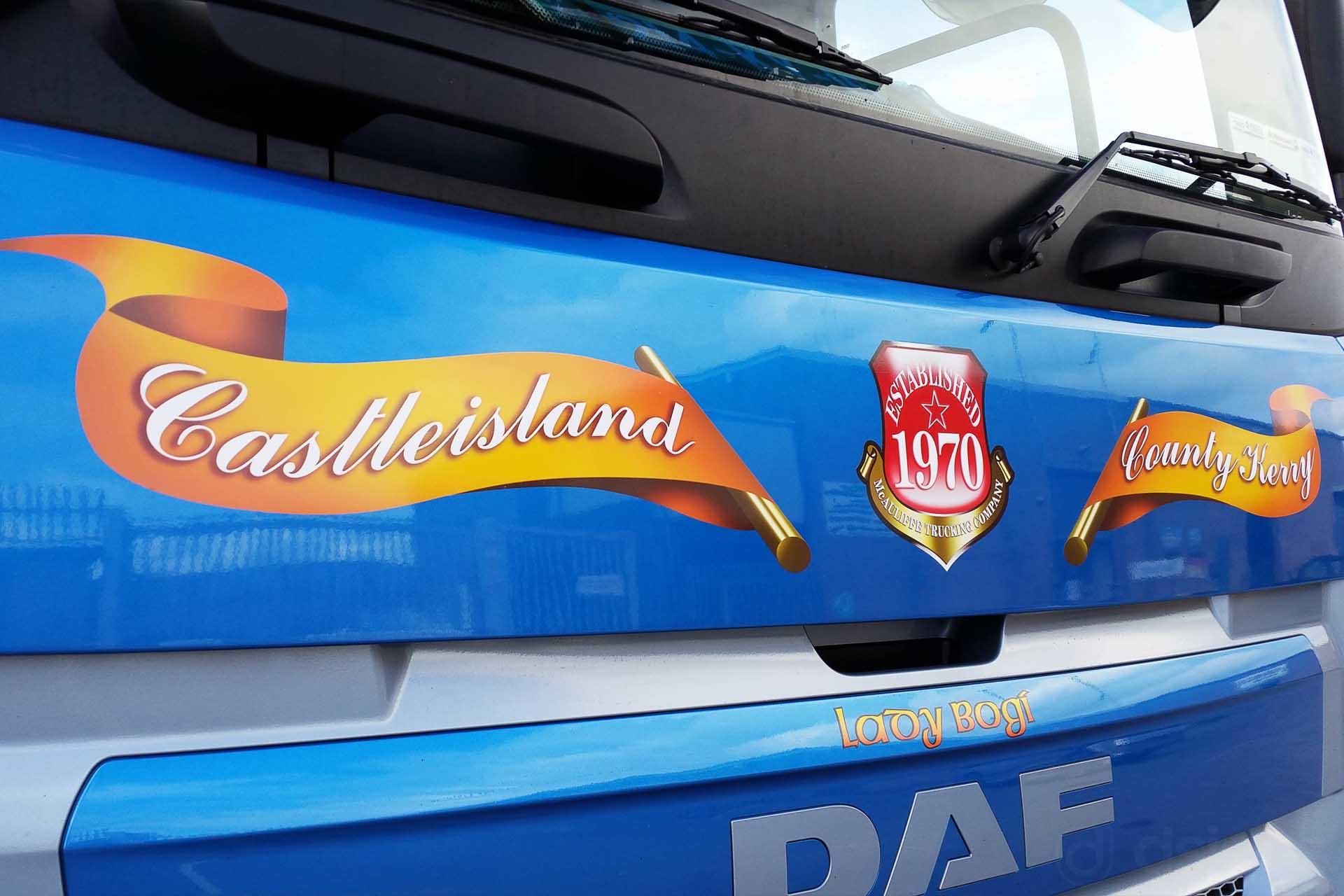 ef0a418ecffd2e McAuliffe Trucking - Digital Truck Graphics