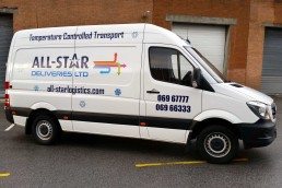 All-Star Deliveries - Vehicle Signage