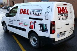 D&L Tool Hire & Sales - Vehicle Signage