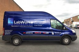Labworks - Vehicle Signage