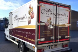 Marguerite's Bakery - Vehicle Signage