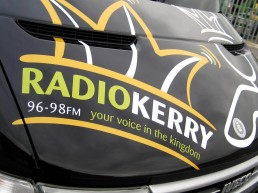 Radio Kerry OBU - Vehicle Signage