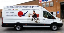 Total Cleaning Supplies - Vehicle Signs