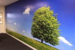 BorgWarner - Digitally Printed Wall Mural