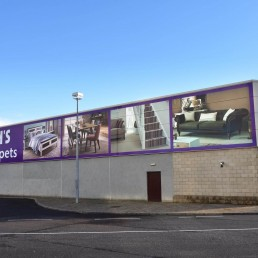 Corcorans Furniture & Carpets - Cladding Signage