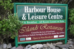 Harbour House & Leisure Centre - Aluminium with Digital Print on Fabricated Frame
