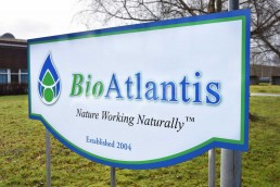 BioAtlantis - Free Standing Sign