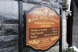 St Mary's Church - Free Standing Sign