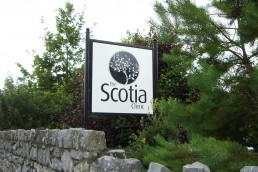 The Scotia Clinic - Free Standing Sign