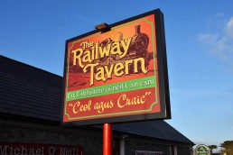 The Railway Tavern - Fabricated Aluminium Composite