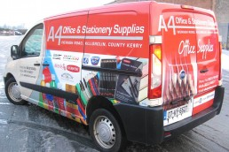 A4 Office & Stationery Supplies - Vehicle Wrap