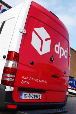 DPD - Rear Vehicle Wrap