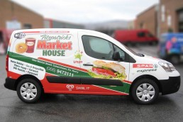 Fitzpatricks Market House - Partial Vehicle Wrap