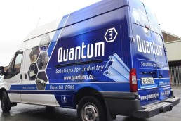 Quantum 3 - Partial Vehicle Wrap