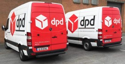 DPD - Partial Vehicle Wrap
