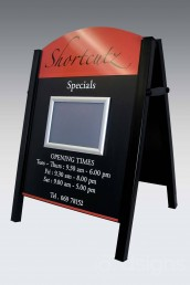 Shortcutz - Premier A-Board Pavement Sign