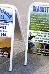 Blasket Island Ferries - A-Board - Pavement Signs