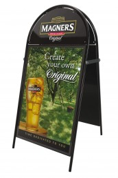 Magners - Booster Pavement Sign