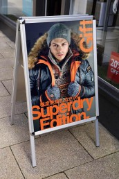 Superdry - Pavement Sign