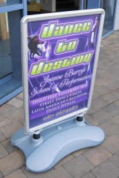 Dance to Destiny - Signmaster Pavement Sign