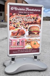 O'Briens Foodstore - Pavement Signs