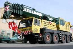 Kelliher Crane Hire - Vinyl Lettering and Graphics
