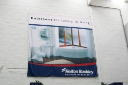 Heiton Buckley - Polyester Banner