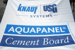 Knauf USG Systems - Polyester Banner