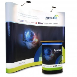 Applied IOT - 3x4 Pop Up Exhibition Display