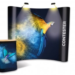 Contester - 3x4 Popup Exhibition Stand