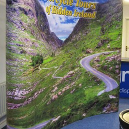 Motorcycle Tours - 3x4 Pop Up Stand